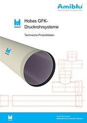 Technische Produktdaten - Hobas Druckrohrsysteme
