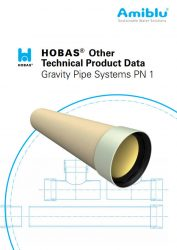 Cover Hobas technical product data