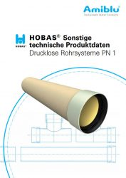 Hobas Sonstige technische Produktdaten PN1