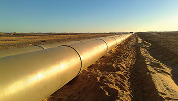 Hobas irrigation pipeline